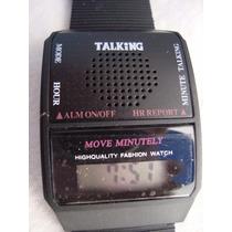 Reloj Parlante, Que Habla Y Dice La Hora + Envío Gratis