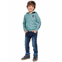 Conjunto Jaqueta Calça Jeans Tigor T. Tigre 8a Original