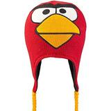 Angry Birds Red Bird - La Cara Grande Del Perú Gorro De Lan