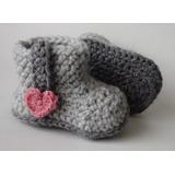 Botas De Crochet Para Bebés