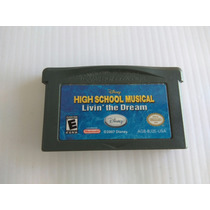 Disney High School Musical Livin The Dream Nintendo Gba