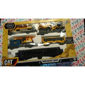 Caterpillar Iron Diesel Train Motorizado Toystate Lyly Toys