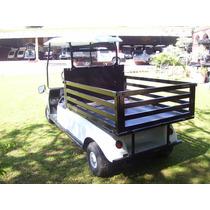 Carro/ Carrito Industrial Electrico Tipo Plataforma Redilas