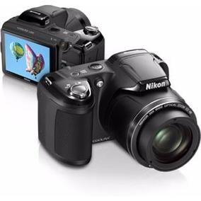 Camara Nikon Coolpix L810 Funda Cargador, Completa Sin Uso