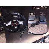 Volante + Pedales Genius Speed Wheel 5 Pro (usb Y Red)