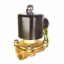 12v1-2nc Válvula Solenoide ½ Npt 12 V Dc Presion Agua Aire