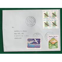 Brasil - Envelope Circulado Porte Selo Desmonetizado - 1994!