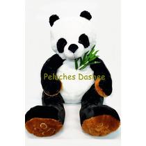 Oso Panda Peluche Gigante Importado Extrasuave Con Ramo