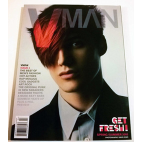 Revista Vman Numero 4, Importada, Moda Masculina