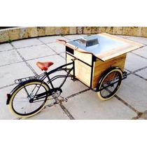 Triciclo Foodbike Foodcart Con Freidora Rin Rin Biclas