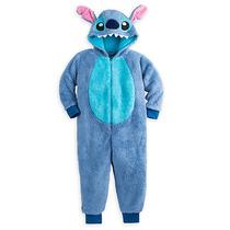 Disney Store Pijama Stitch Disfraz Para Niños Talla 2 , 5/6