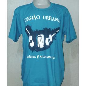 Camisas Camisetas Legião Urbana Renato Russo Rock