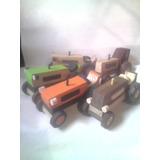 Juguetes De Madera Tractores
