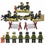 Blocos De Montar Exercito Americano Segunda Guerra Soldados