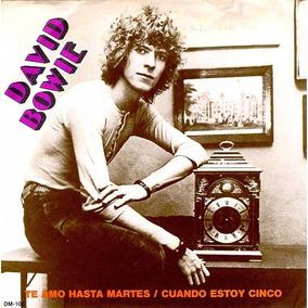 David Bowie Te Amo Hasta Martes Compacto Vinil Import. Frete