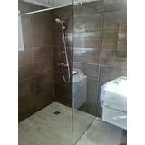 Mampara Baño Fija Laminado De Seguridad Blindex 160x75 6mm.