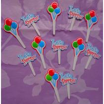 Figuras Globos Y Letreros Para Pastelitos Pasteles O Cup Cak