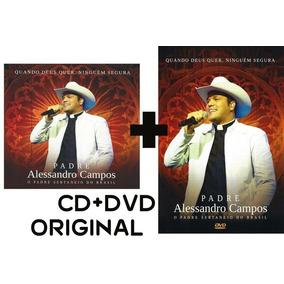 Quando Deus Quer Padre Alessandro Dvd E Cd Original Liquida