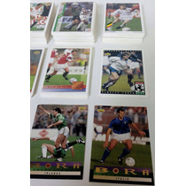 167 Tarjetas Upper Deck World Cup Usa 94! No Repetidas!!