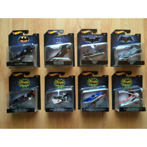 Set 8 Hot Wheels Batman Escala 1/50 Colección Completa !!!