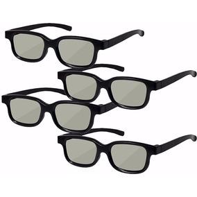 Oculos 3d Universal Passivo 4 Unidades - Pronta Entrega