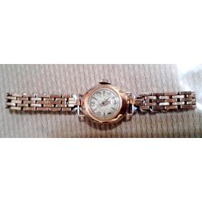 Relógio Feminino Antigo Em Ouro 18k Relíquia