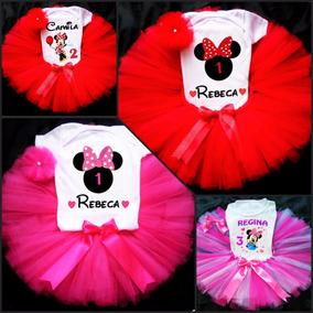 Tutu Personalizado Mimi Disfraz Minnie Y Muchos Más!!