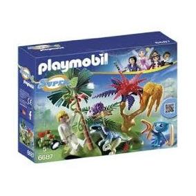 Playmobil 6687 Isla Perdida Alien Y Raptor Metepec Toluca