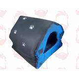 Casa Cama Desarmable Para Perro Mascota 70x70x67 Extragrande