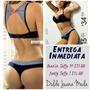 Conjunto Ropa Interior Mujer Sexy Brasier + Panty Marinero