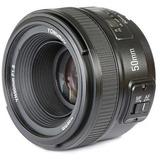 Lente Yongnuo Nikon 50mm Idem 1.8g Af Mf Gran Apertura Manua