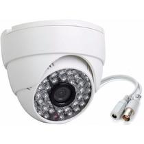 Camera Dome Ccd Sony 1800linhas Cftv Hd Led Infravermelho Ir