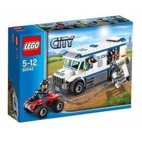 Brinquedo Novo Lego City Locomoção De Prisioneiros 60043