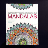 Libro Mandalas Para Colorear Terapia Antiestres Relajante 8