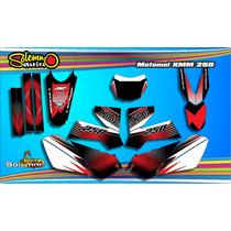 Kit Calcos Motomel Xmm 250 Sport Laminado 3m 510mcr