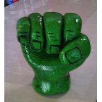 Adorno De Torta Puño De Hulk Vengadores Porcelana Fria