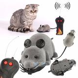 Rato De Brinquedo Com Controle Remoto Para Animais