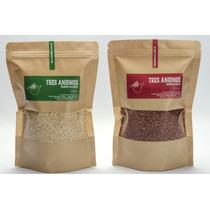 Quinoa X 2 + Paellera Grande De Barro + 2 Paelleras Individu