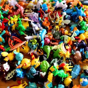 Kit Pokemon Miniatura 144 Pcs 2-3 Cm Colecionaveis