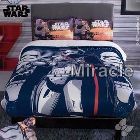Cobertor Star Wars Fleece Con Borrega Matrimoniall Iny