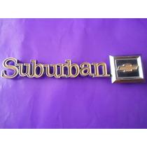 Emblema Suburban Chevrolet Camioneta Original