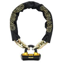 Cadena Con Candado On Guard Mastiff 8019 110 X 1 Cm Titanio