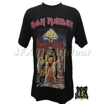 Camiseta Camiseta Blusa Rock Iron Maiden Powerslave