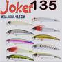 Maruri Joker 135 Kit 5 Iscas Meia Agua Anchova Olhete Robalo