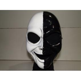 Mascara Preta E Branca Carnaval Halloween Bruxa Panico Jason