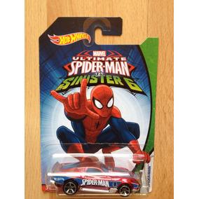 Hot Wheels Marvel Hombre Araña, Ultimate Spider Man Auto #5