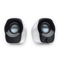 Bocinas Stereo Logitech Z120 Usb 3.5mm Blanco-negro +c+