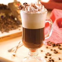 Caneca Capuccino Chocolate Vidro Temperado 240ml