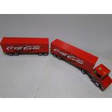 1,63 Metros Rodo Bitrem 9 Eixos Carreta Bau Coca Cola Scania