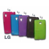 Forro Estuche Acrigel Para Celulares Lg, L9, L7, L5, L4, L3
